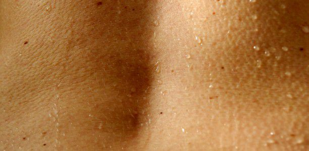 Hyperpigmentation in pregnancy: Darkening of freckles, scars, nipples, genitals, thighs and arm pits